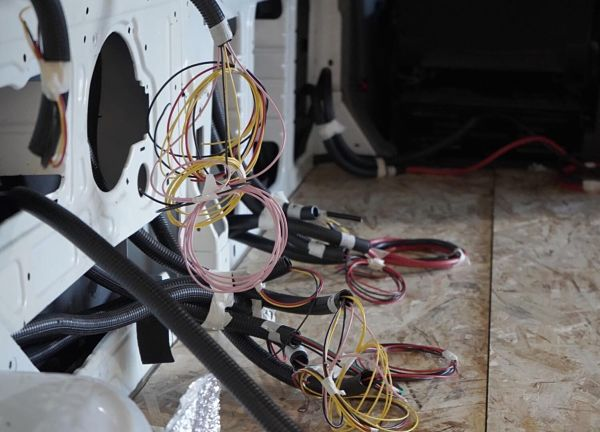 Cableado instalación electrica en campers